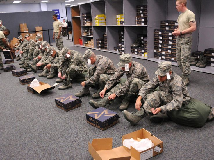 Into the wild blue yonder: US Air Force basic training (pictures). The service trains 35,000 new recruits each year. CNET Road Trip 2014 visits Lackland Air Force Base in San Antonio to see what the Airman's Creed is all about.