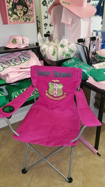 Alpha Kappa Alpha Picnic Chair | Sorority Greek apparel and accessories