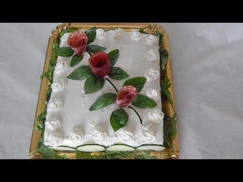 Torta tramezzino - Torta salata senza cottura - YouTube