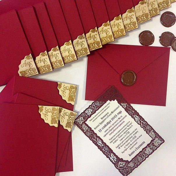 """""""Винная свадьба"""" Антона и Елизаветы 12.09.15❤ Свадебные приглашения. Приглашения на свадьбу. Wedding invitations. #7_svadeb"""