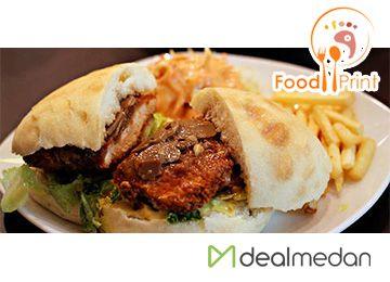 [Exclusive] 2 Main Course + 2 Beverages Di Food Print Cafe, Hanya Rp. 75.000,-nett