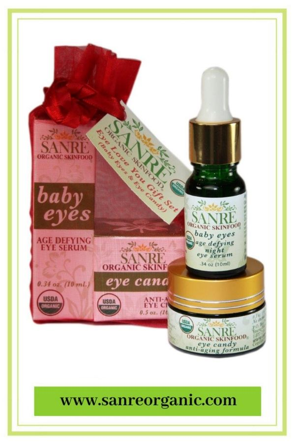 bfb35edd1812 ORGANIC BEAUTY GIFT SET. Now on sale! Here is a great gift for her for the  holidays or any special occasion. Includes our organic Eye Candy day cream  and ...