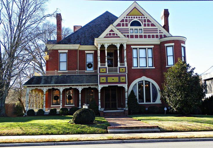 Brick Victorian House: Dalton, Georgia | Flickr - Photo Sharing!