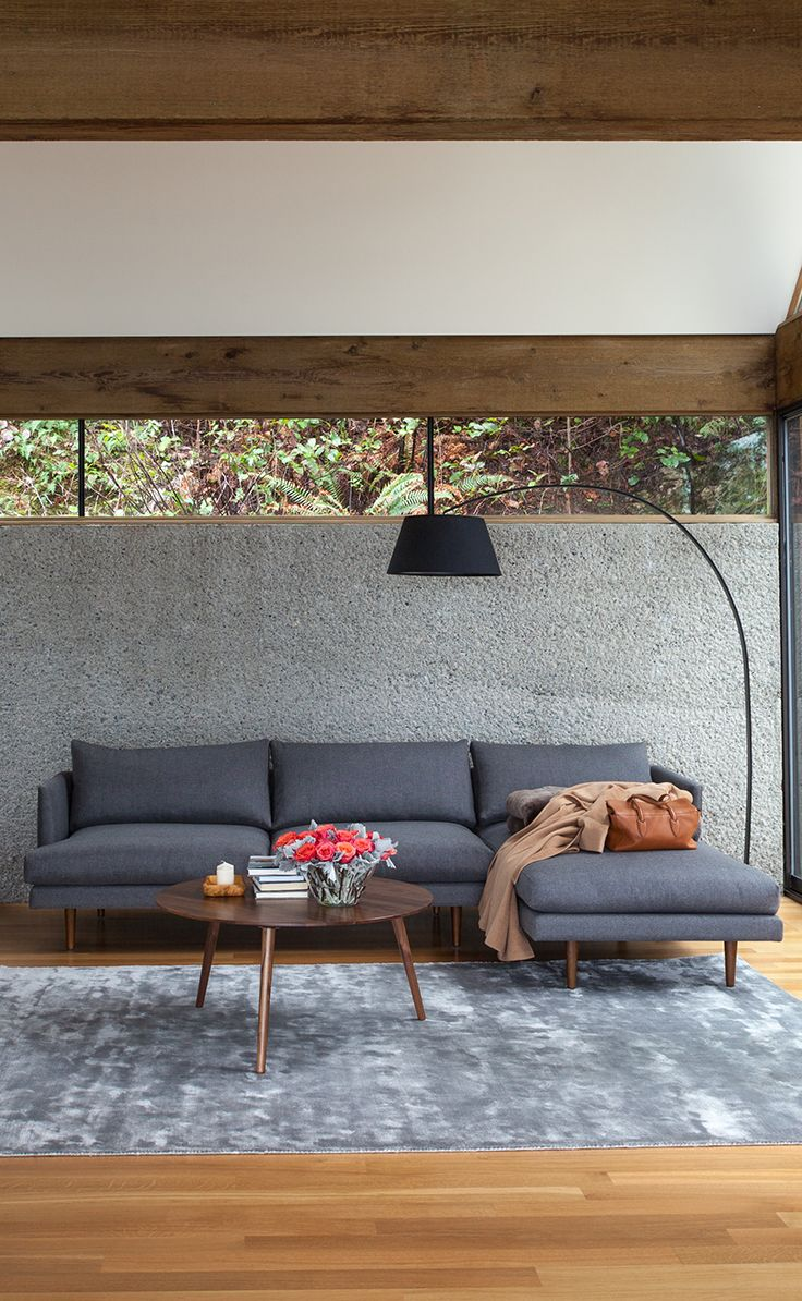 BURRARD 'Graphite Gray' sectional