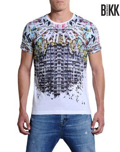 T-shirt Uomo - Abbigliamento Uomo su Dirk Bikkembergs Online Store