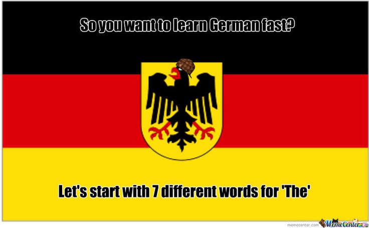 Scumbag German Language   Just for fun   German language ...