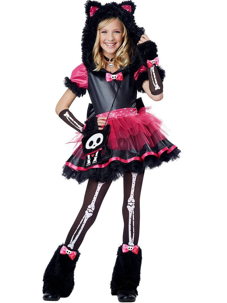 Kit The Kat Deluxe Costume   Wholesale Cat Costumes for Girls