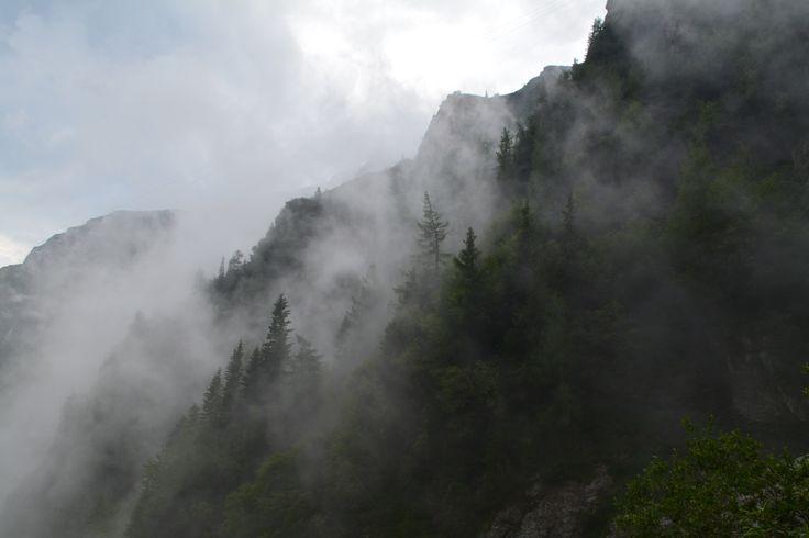 Jepilor Valley in Bucegi Mountains.