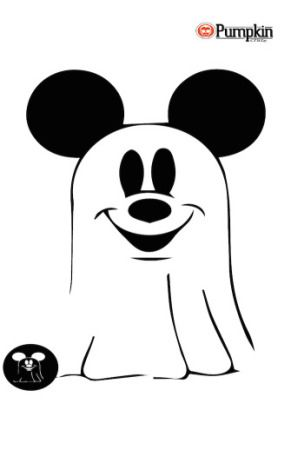 The 25 best mickey mouse pumpkin stencil ideas on for Vampire mickey mouse pumpkin template