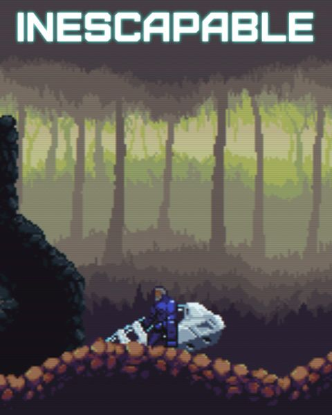 Inescapable, a side scrolling Sci-Fi action adventure with a Amiga-style look in which you unravel the mystery uncovered by a remote interplanetary mining operation is now available on FireFlower Games. http://fireflowergames.com/shop/inescapable/