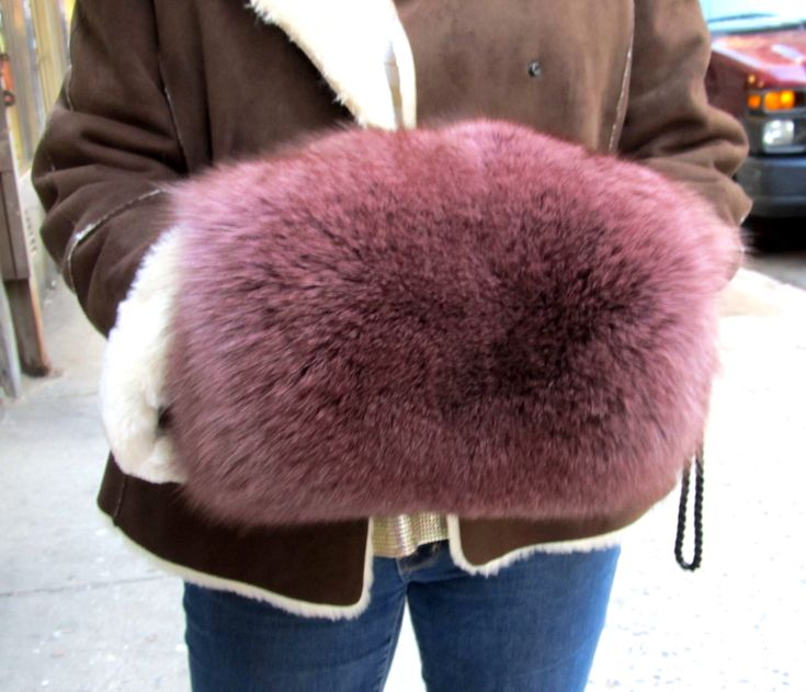 Old Fashion Hand Muffs | Fur Accessories NYC | New York Furriers | Used Furs | Henry Cowit ...