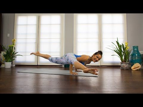 20 mins Yoga Arm Balance Class: Eka Pada Tutorial with Briohny Smyth Yoga
