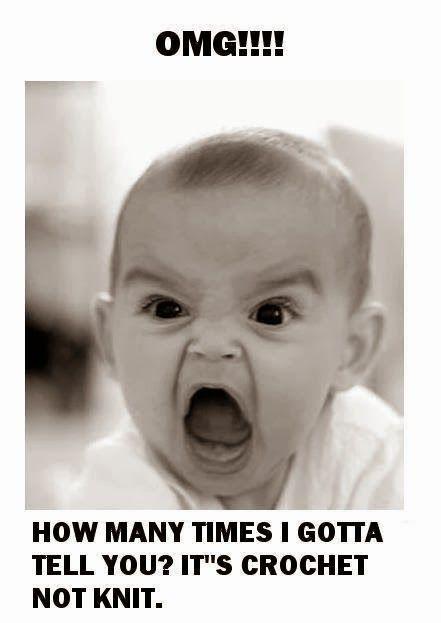 Angry Baby meme Crochet Pinterest