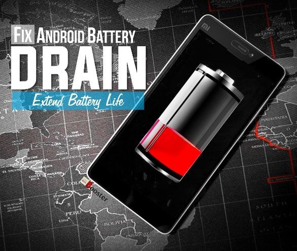 How to fix android battery drain issues? Android OS Marshmallow/ Nougat 6.0.1 battery drain fix, quick tricks for fixing poor battery life on smartphones in Lollipop or KitKat and also discuss on removing system hogging apps, extending battery life, unknown problems that are draining your battery in the background and going to learn new smart ways to improve your mobile battery life.