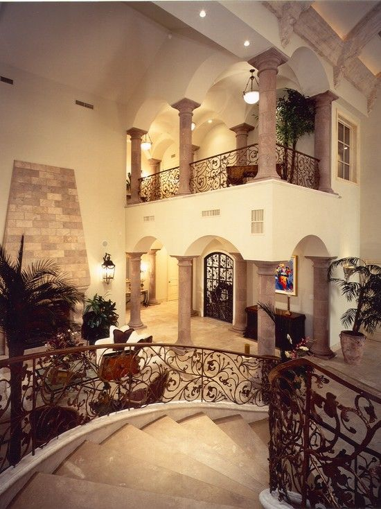17 best images about old world mediterranean italian for Mediterranean style homes interior