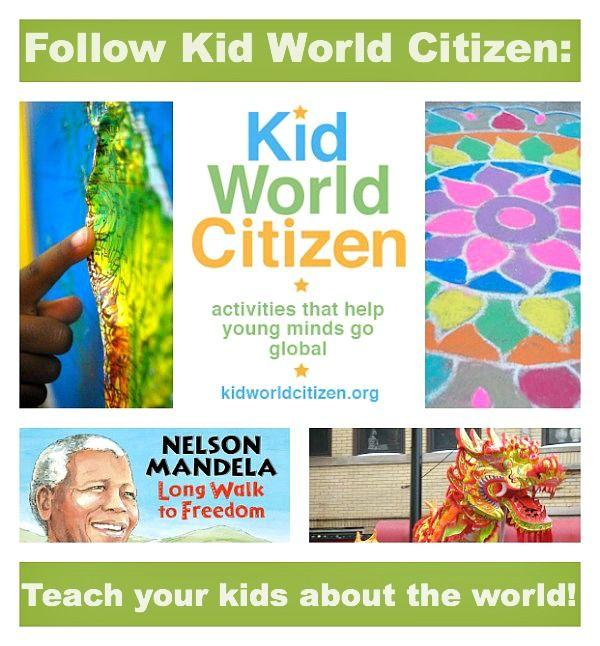 Kid World Citizen | Cultural awareness. World thinking day. Global awareness