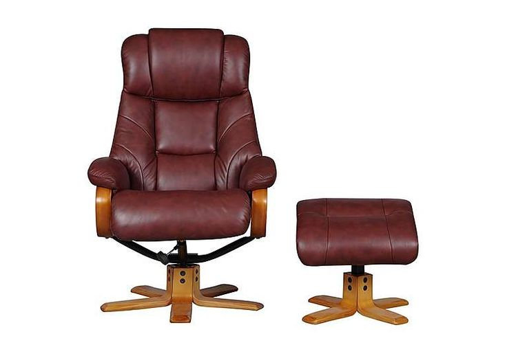 Furniture Village Armchairs cologne leather armchair with footstool | music room | pinterest