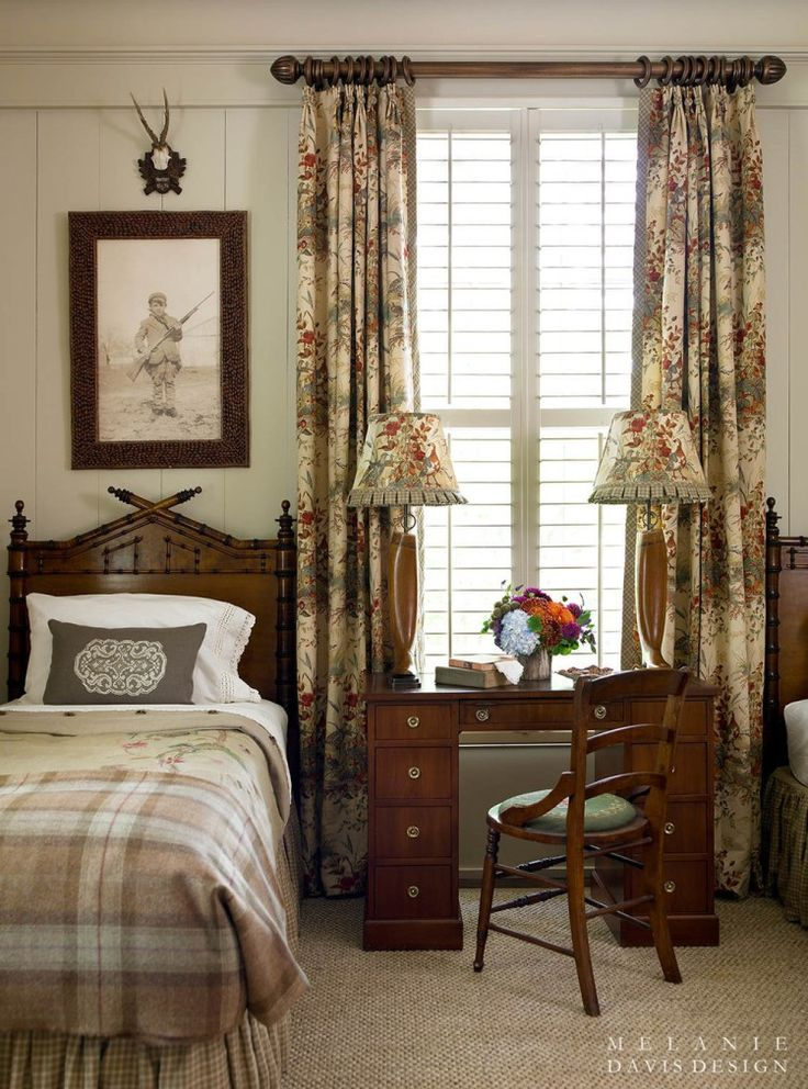Designer crush melanie davis house bedrooms and for English country bedrooms