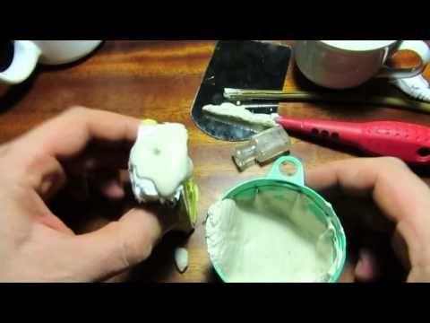 Учимся делать силиконовые формы. Силикон для форм Силифлекс20 - YouTube