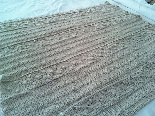 Awesome Aran Afghan Crochet Pattern Gallery - Easy Scarf Knitting ...