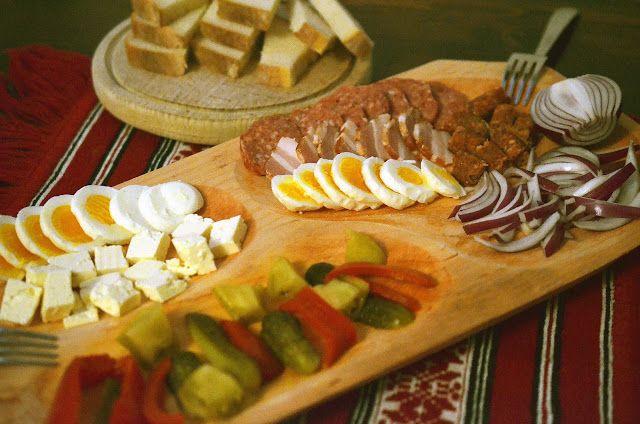 Frământări la cuptor: Cina romaneasca (de iarna)
