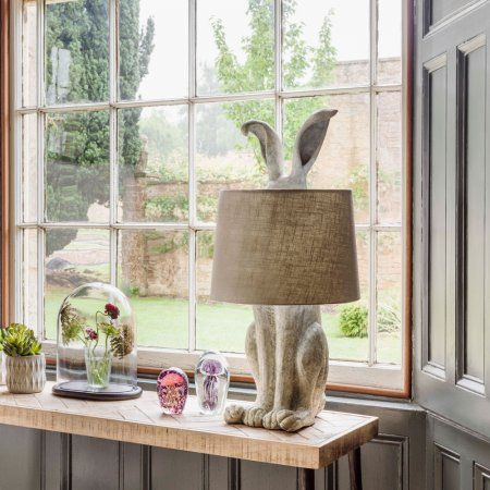 Hetty Hare Table Lamp | Lighting | Graham & Green