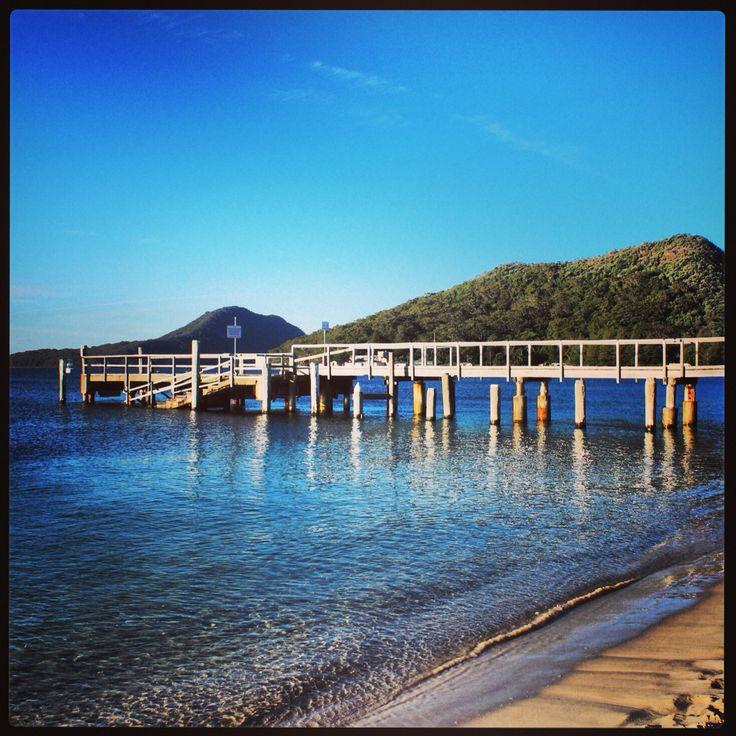 Shoal Bay Jetty NSW