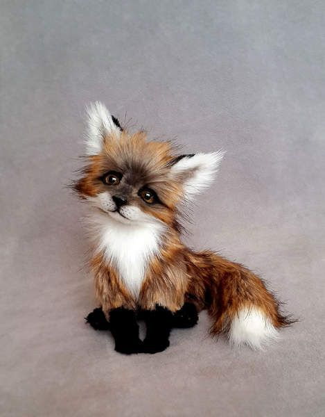 Little Fox By Valentina Ku (Vakulina):