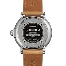 THE RUNWELL 47 mm blauw horloge
