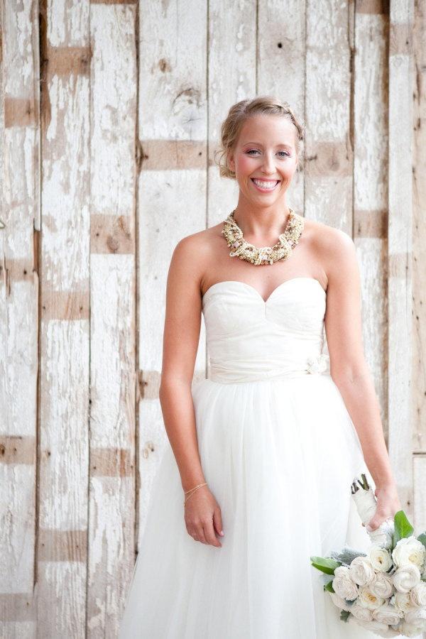 Photography by aboutlovestudio.com, dress by jcrew.comPretty Dresses, Dresses Wedding, Beautiful Brides, Wedding Dressses, Statement Necklaces, Rustic Wedding Photography, Jcrew, Dresses Photography, Chunky Necklaces