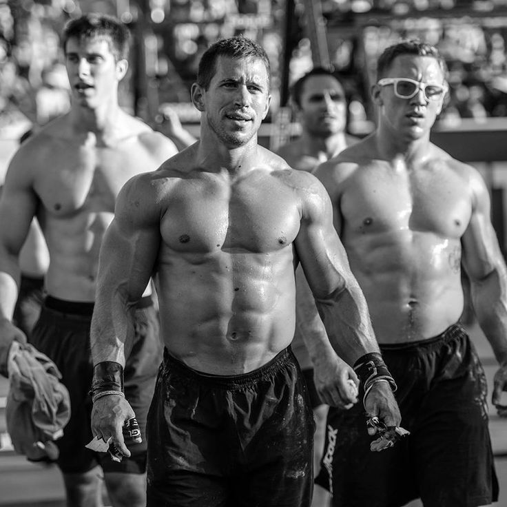 Bryan Miller, Dan Bailey, and Matt Hathcock! The Crossfit Games 2013