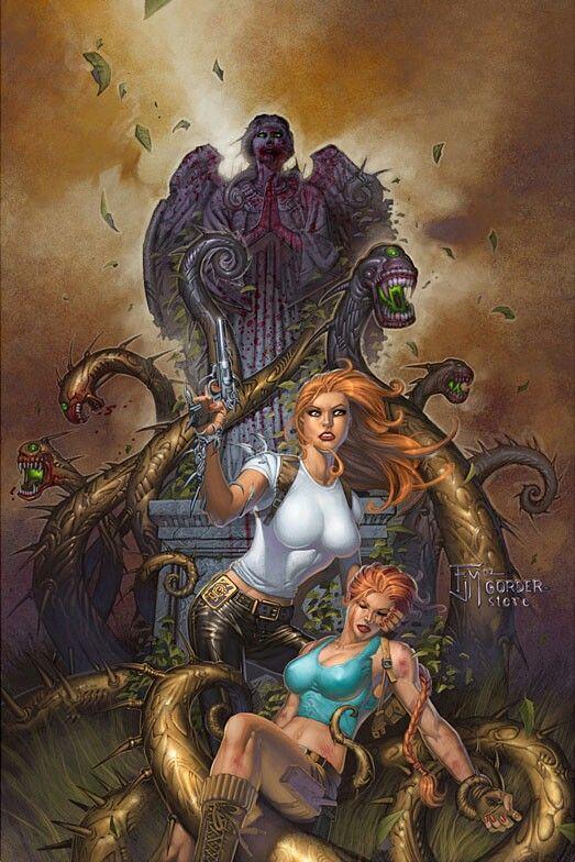 Tomb Raider/Witchblade/Magdalena/Vampirella comic   Read
