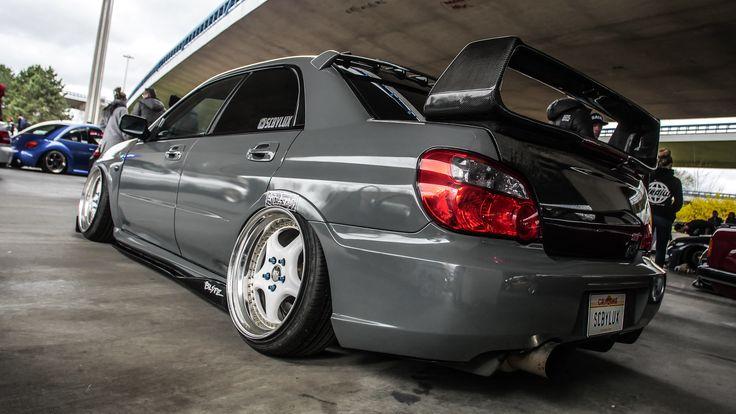 Tief wie nie: Subaru Impreza WRX STi  https://www.autotuning.de/tief-wie-nie-subaru-impreza-wrx-sti/ Bagged, Impreza, Impreza WRX STI, Stance, STI, Subaru Impreza, Subaru Impreza WRX, Subaru Tuning News