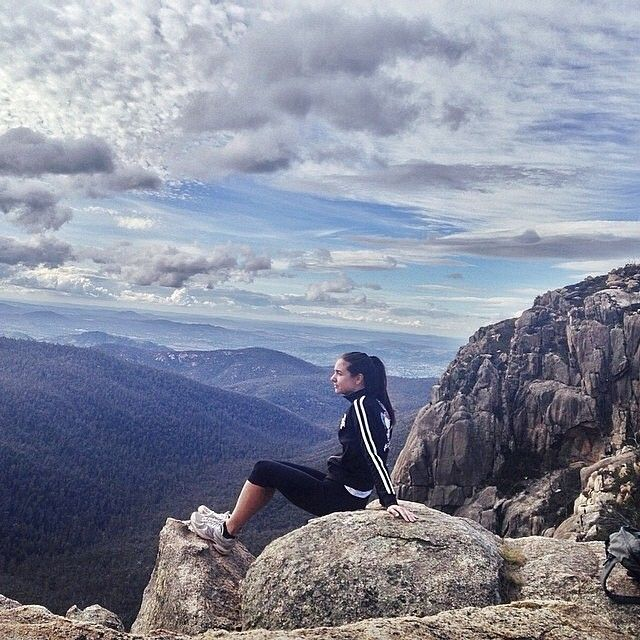 The 9km hike to the Booroomba Rocks in the Namadgi National Park is worth it for the view! Thanks to Instagrammer hannahallenstyle for sharing this photo.