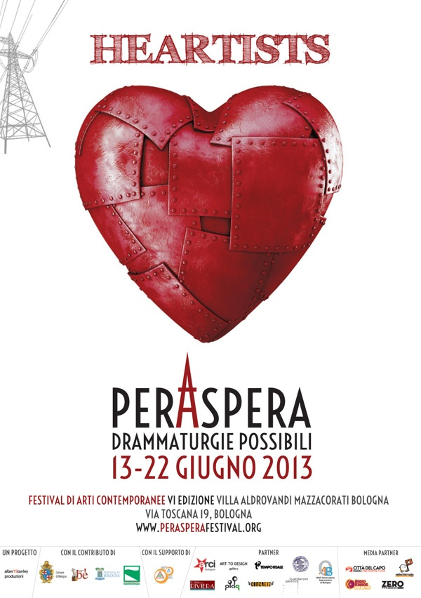 perAspera (Festival of Contemporary Arts) by Sara Garagnani, via Behance