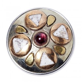 NOOSA Divali WEIHNACHTS-Chunk silver/gold/red metal/copper/brass + Giftbox Limited Edition