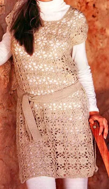 Crochet Sweater: Women Tunic - Crochet Tunic Pattern