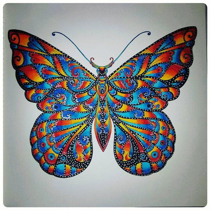 #adultcoloringbook #johanabasford #magicaljungle #takeabreak #takeabreather…