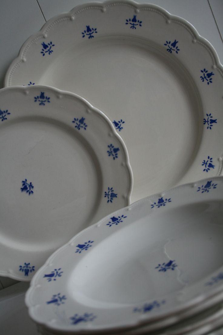 Lief, romantisch oud servies