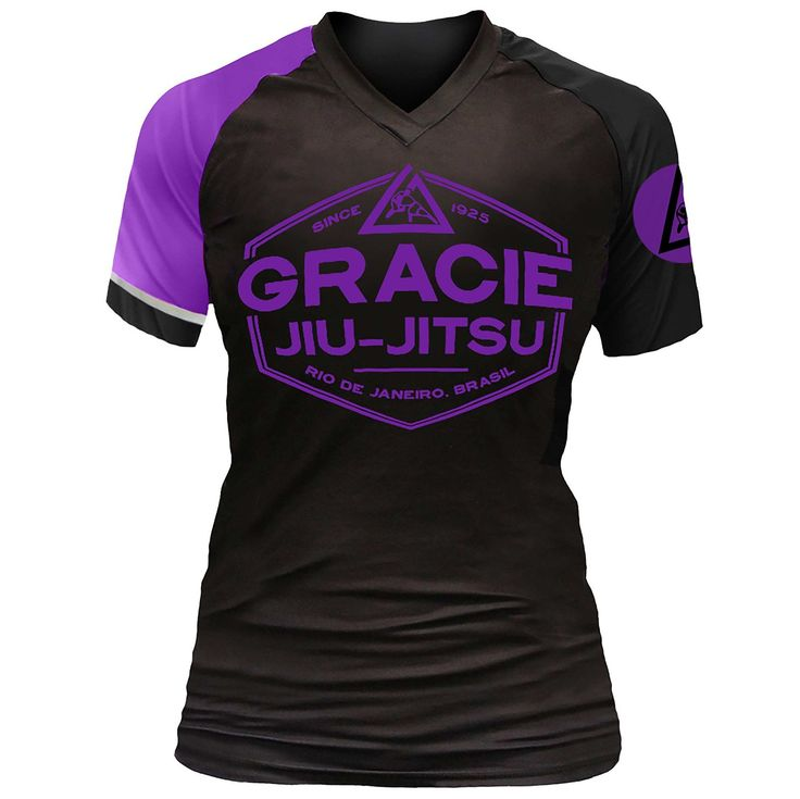 Listed Price: $54.99 Brand: Gracie Jiu-Jitsu Ladies can rock the new Gracie Jiu-Jitsu Womens Short Sleeve Rashguard and showcase your��_