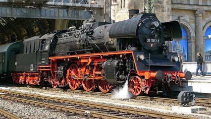 Dampfloktreffen Dresden 2015 - Sonderzug zur Parallelfahrt am 19.04.2015 von Dresden Hauptbahnhof über Pirna nach Decin