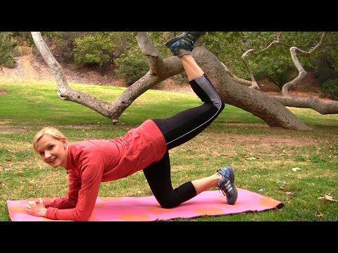 Brzuch-Uda-Pupa-Nogi ♦ Ćwiczenia łatwe, krótkie i skuteczne - YouTube