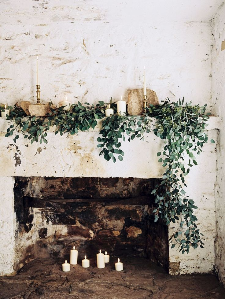 Add the Christmas spirit to your special day, with stunning foliage and candles to give that cosy feel!