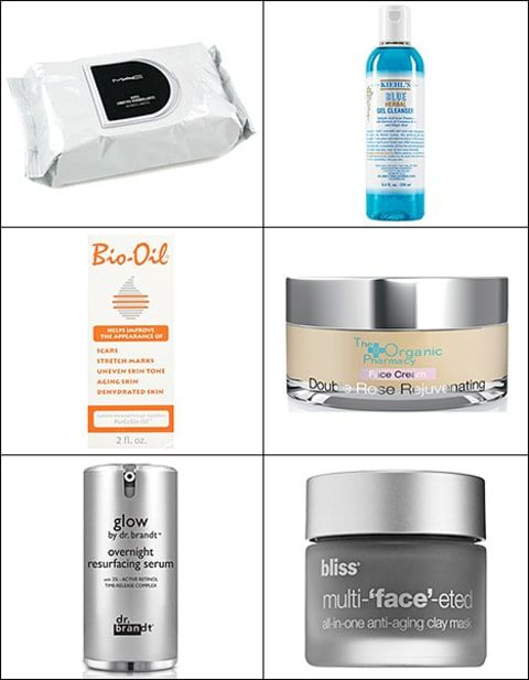 6 must haves for over-night skin care