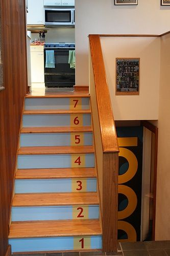 If there are actually treads under the gross carpet on the basement stairs, would love this.