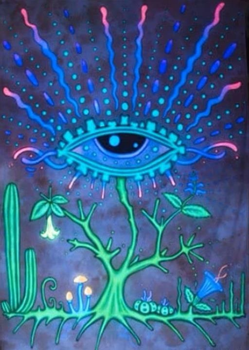 American Hippie Psychedelic Art ~ Tree of Life .. All ...