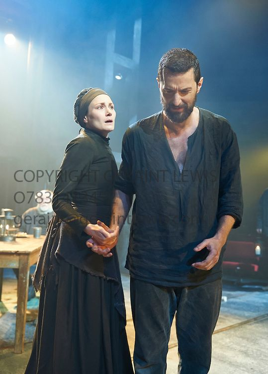 """The Crucible by Arthur Miller Richard Armitage as John Proctor, Anna Madeley as Elizabeth Proctor. Until an hour before the Devil fell, God thought him beautiful in Heaven."""" — Arthur Miller (The Crucible)"""