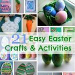 21 Easy Easter Crafts For Kids