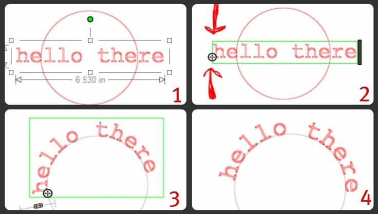 Cameo - how to get your text to follow a shape {tutorial}