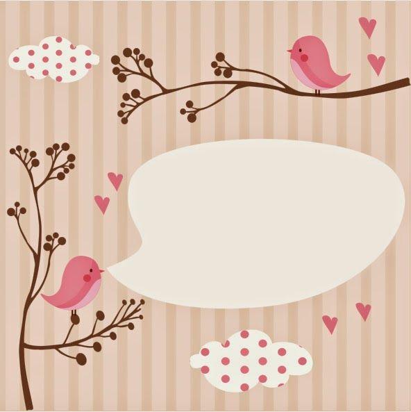 Tarjetas de Baby Shower para Niñas, parte 4